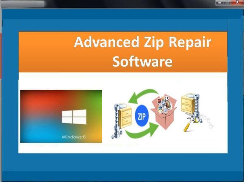 Windows 7 Advanced Zip Repair Software 2.0.0.22 full